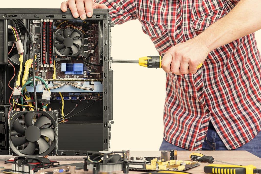 servicio de mantenimiento de computadoras a domicilio